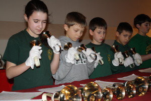 Join us and enjoy a performance of the Handbell Choir at special liturgies such as Christmas and Easter.
