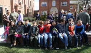 Children and adults alike enjoyed refreshments and some fellowship after Sunday masses.