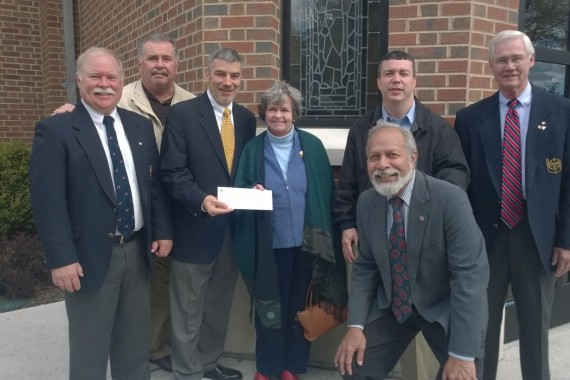 The Knights of Columbus Thank the St. Michael's Community