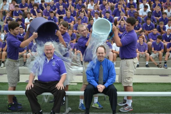 An Alive as the Body of Christ Ice Bucket Challenge