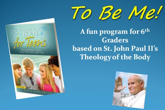 To Be Me! Retreat for Sixth Graders