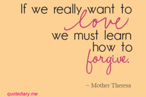 On Forgiveness in the Family