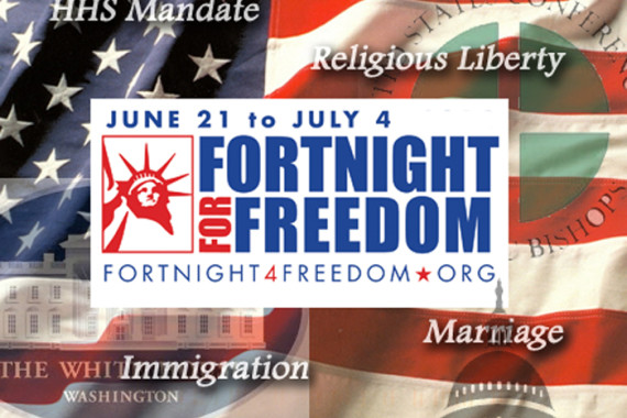 Fortnight for Freedom:  Right to Practice Faith in Business