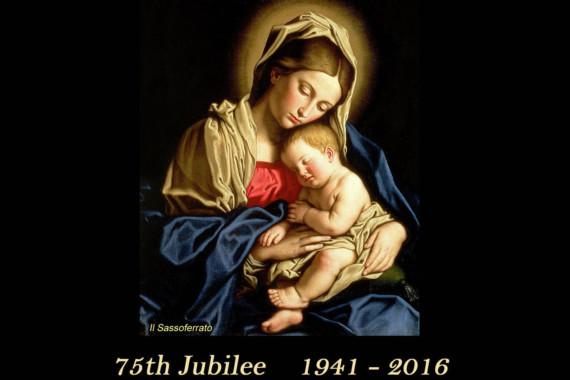 ROSARY SOCIETY – 75 YEAR JUBILEE