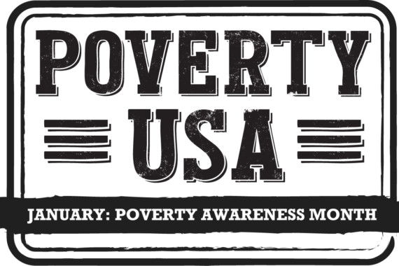JANUARY IS POVERTY AWARENESS MONTH!