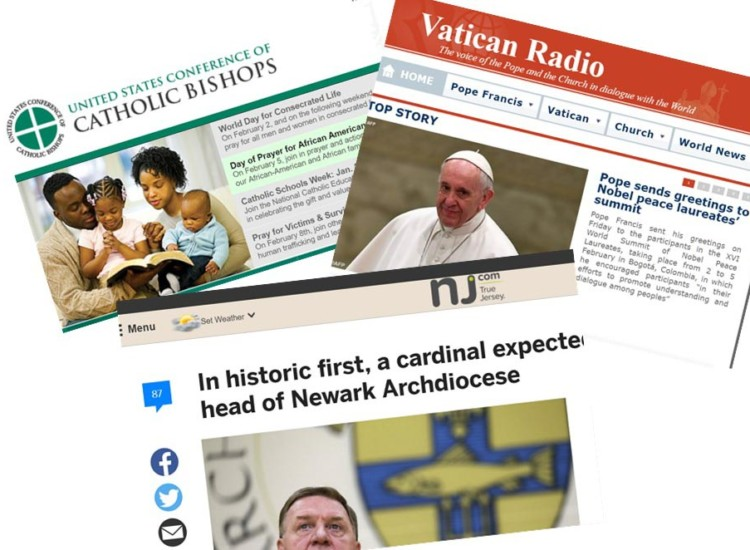 CATHOLIC NEWS:  WHERE TO FIND THE WHOLE STORY