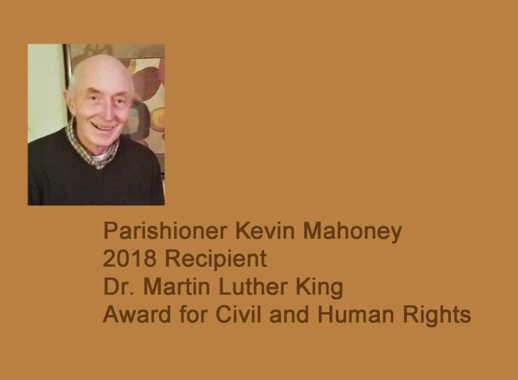 MARTIN LUTHER KING DAY AWARD, PRAYER SERVICE AND SERVICE PROJECT